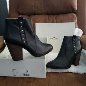 COACH - Haven Ankle Boots